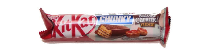 KitKat Chunky Salted Caramel review at Castle View Academy