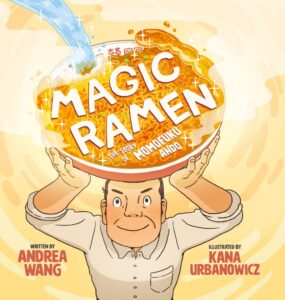Magic Ramen book cover reveal