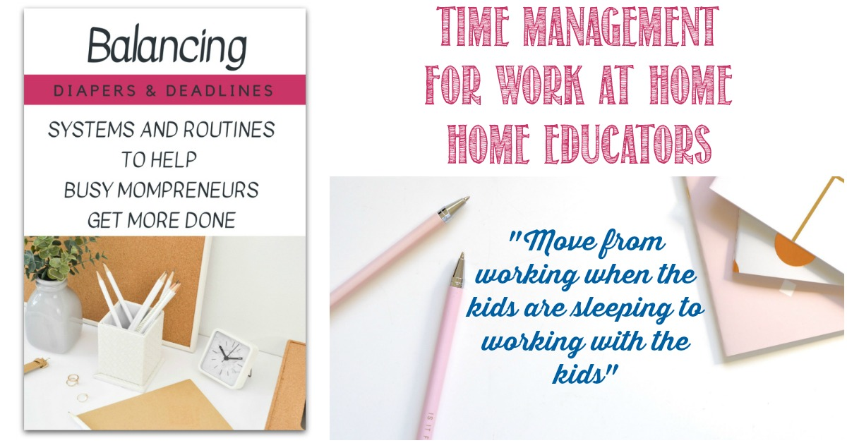 Review of Balancing Diapers and Deadlines time management course at Castle View Academy