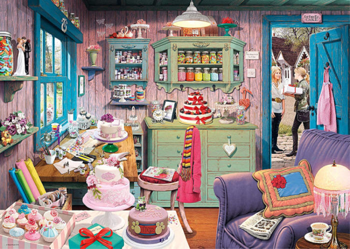 The Cake Shed Puzzle by Ravensburger and Reviewed by Castle View Academy