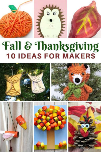 What to make this Fall and Thanksgiving a Red Ted Art guest post for Castle View Academy homeschool