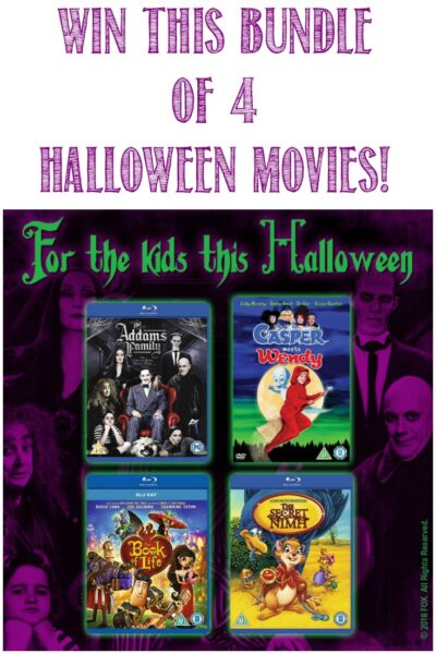 Win this bundle of 4 Halloween Movies at Castle View Academy