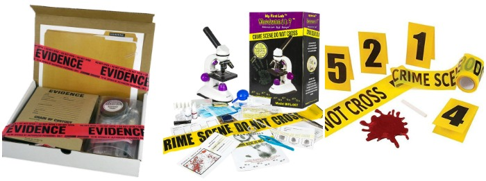 Crime Scene Kits at Castle View Academy homeschool