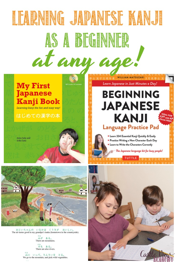 Learning Japanese Kanji as a Beginner - 2 books for children and adults by @tuttlebooks #kanji #Japanese #foreignlanguage #newskill