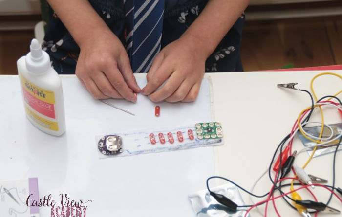STEM jewellery at Castle View Academy