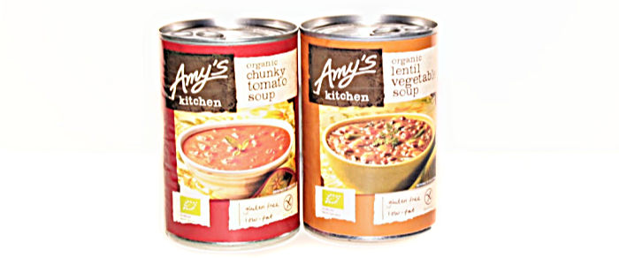 Amy's Kitchen Oganic Chunky Tomato & Lentil Vegetable Soups