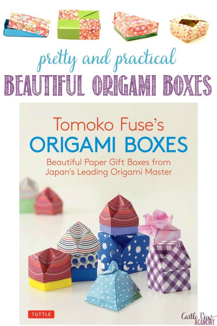 Castle View Academy reviews Tomoko Fuse's Origami Boxes