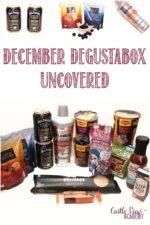 December Degustabox unboxed at Castle View Academy homeschool