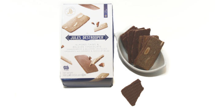 Jules Destrooper Almond Thins & Belgian Chocolate