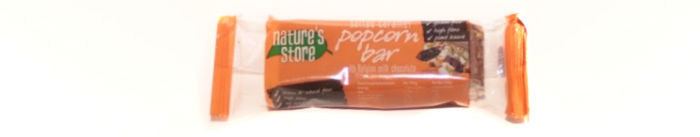 Nature's Store Salted Caramel Popcorn Bar