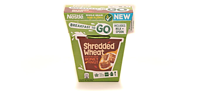 Nestlé Shredded Wheat Breakfast on the Go