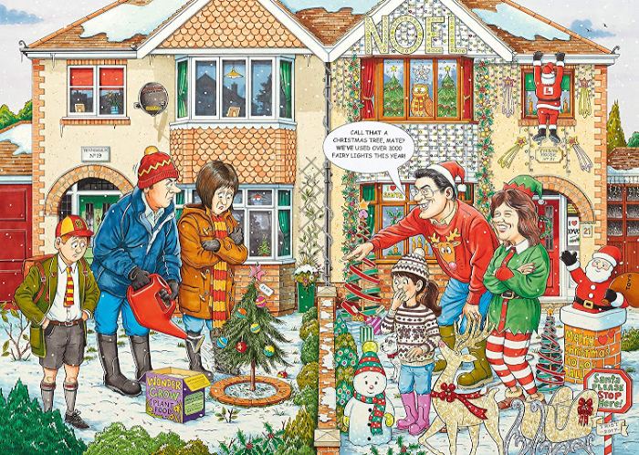 Ravensburger's What If_ Christmas Lights puzzle