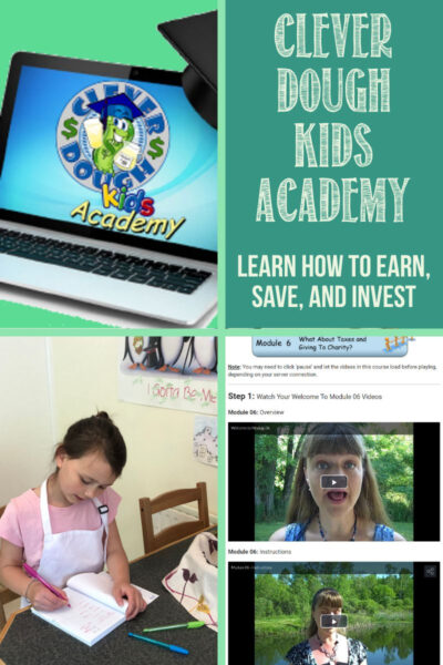 Cleverdough Kids Academy - learn to earn, save, and invest money