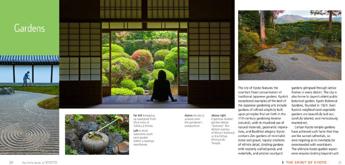 Gardens from the Little Book of Kyoto, reviewed by Castlle View Academy homeschool