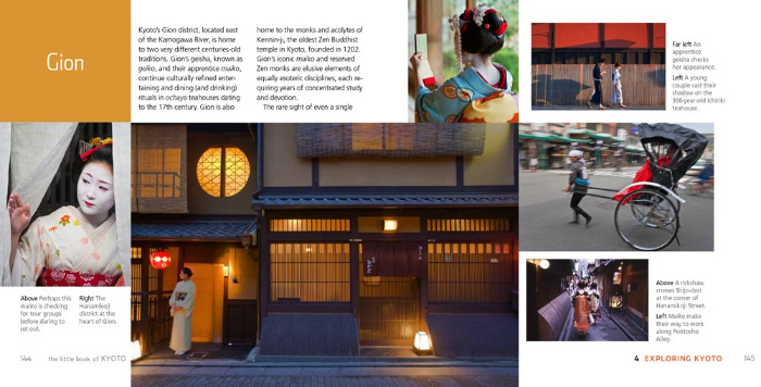 Gion from the Little Book of Kyoto, reviewed by Castlle View Academy homeschool
