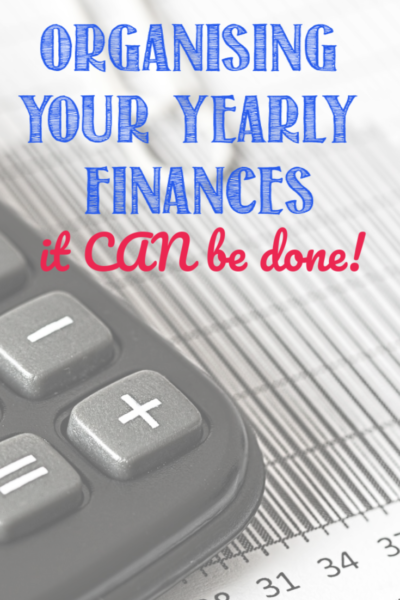 You CAN get your yearly finances organised! Find out how at Castle View Academy homeschool