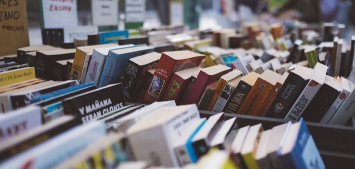 saving money by buying used books