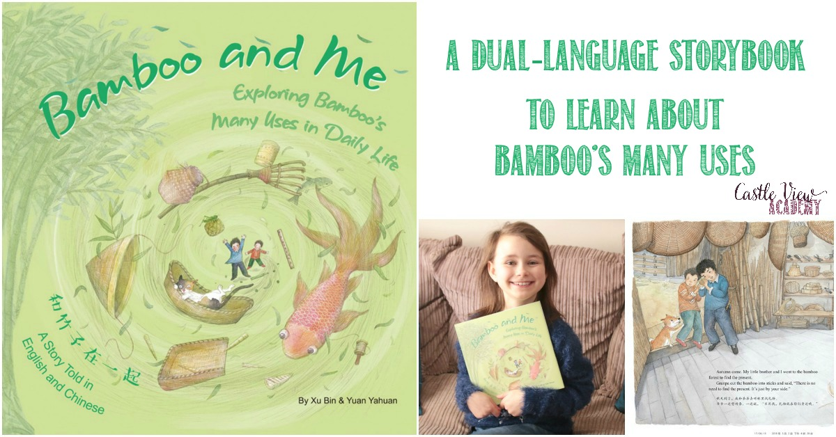 Bamboo and Me, a dual-language storybook reviewed by Castle View Academy homeschool