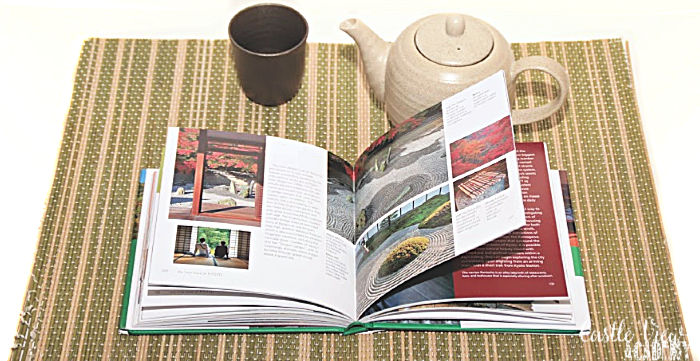 Castle View Academy enjoying the Little Book of Kyoto with a cup of tea