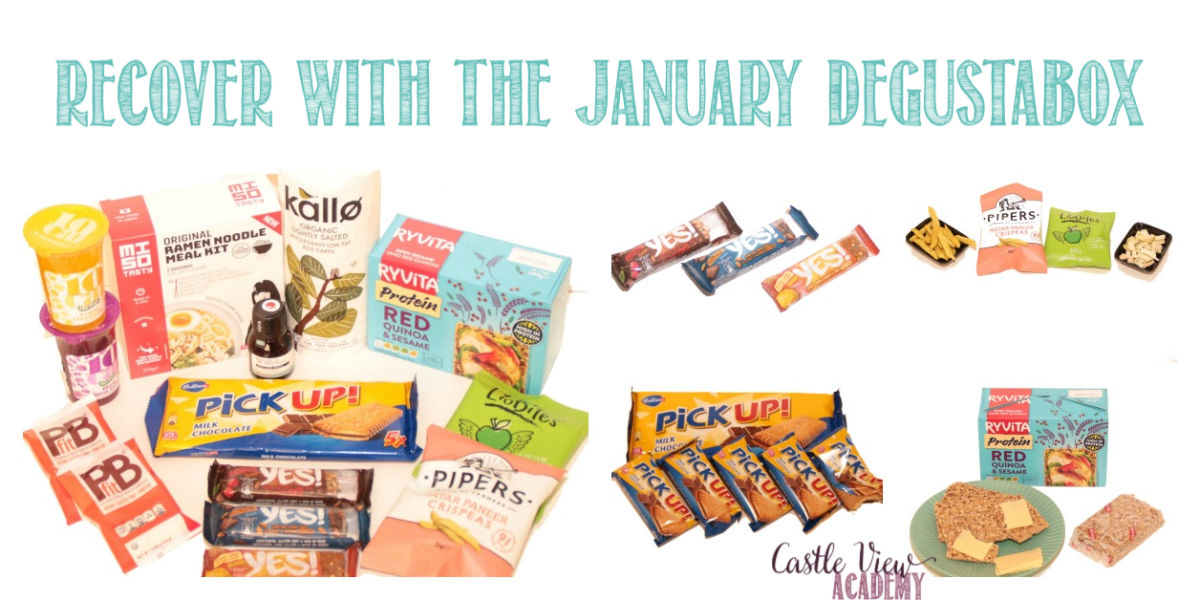 January Degustabox reviewed by Castle View Academy