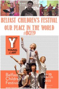 Join Castle View Academy homeschool at the Belfast Children's Festival 2019