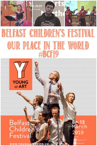 Join Castle View Academy homeschool at the Belfast Children's Festival 2019