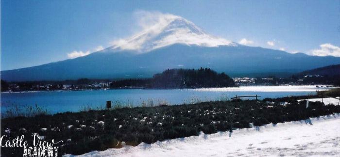 Kawaguchi-ko, Mt Fuji, Japan, Castle View Academy homeschool