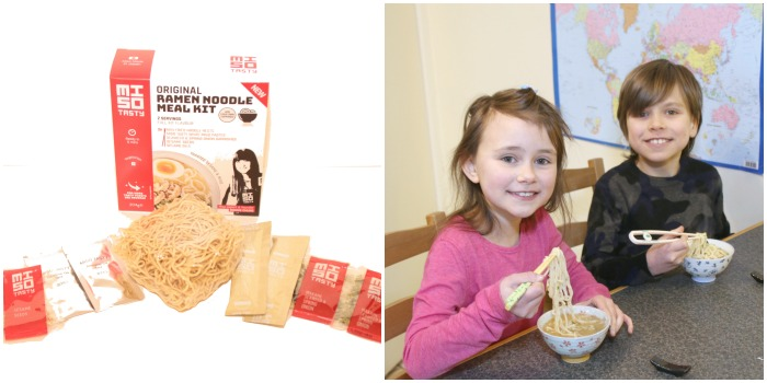 Miso Ramen Noodles reviewed by Castle View Academy
