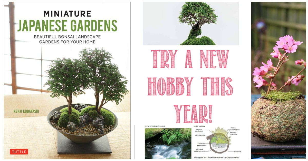 Try a new hobby this year with Miniature Japanese Gardens and Castle View Academy homeschool