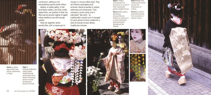 inside the Little Book of Japan, reviewed by Castle View Academy homeschool