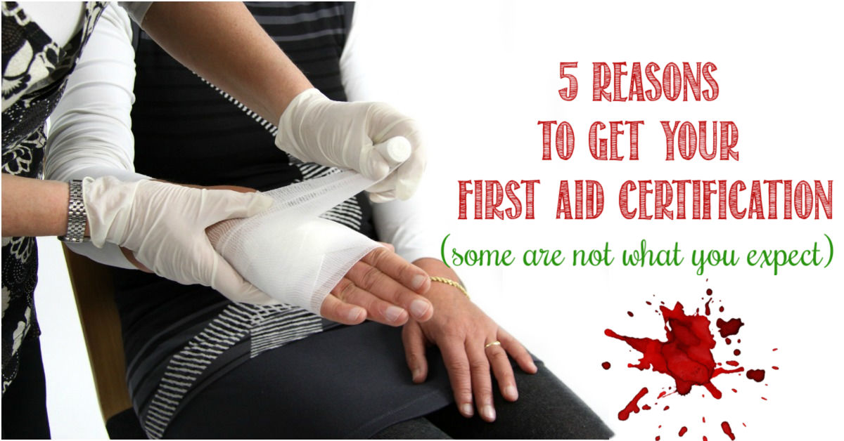 5 Reasons to get your first aid certification, Castle View Academy