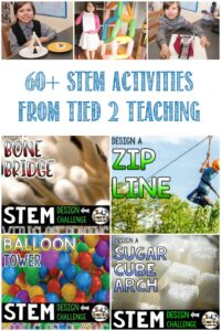 60+ STEM Activities From Tied 2 Teaching, review by Castle View Academy homeschool
