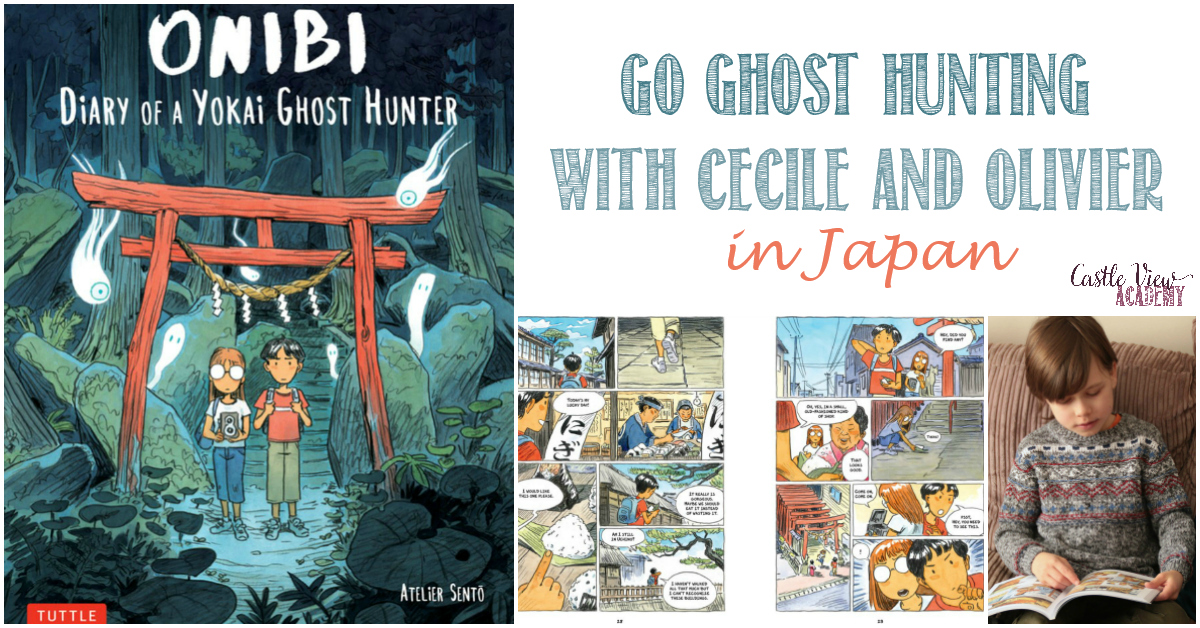 Castle View Academy homeschool and Onibi, Diary of a Yokai Ghost Hunter