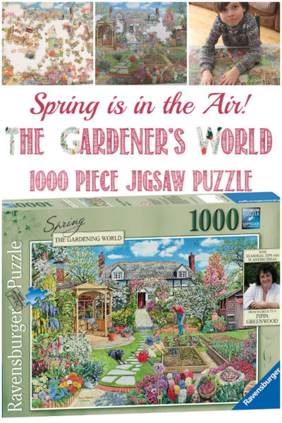 Castle View Academy homeschool reviews Gardener's World - Spring jigsaw puzzle