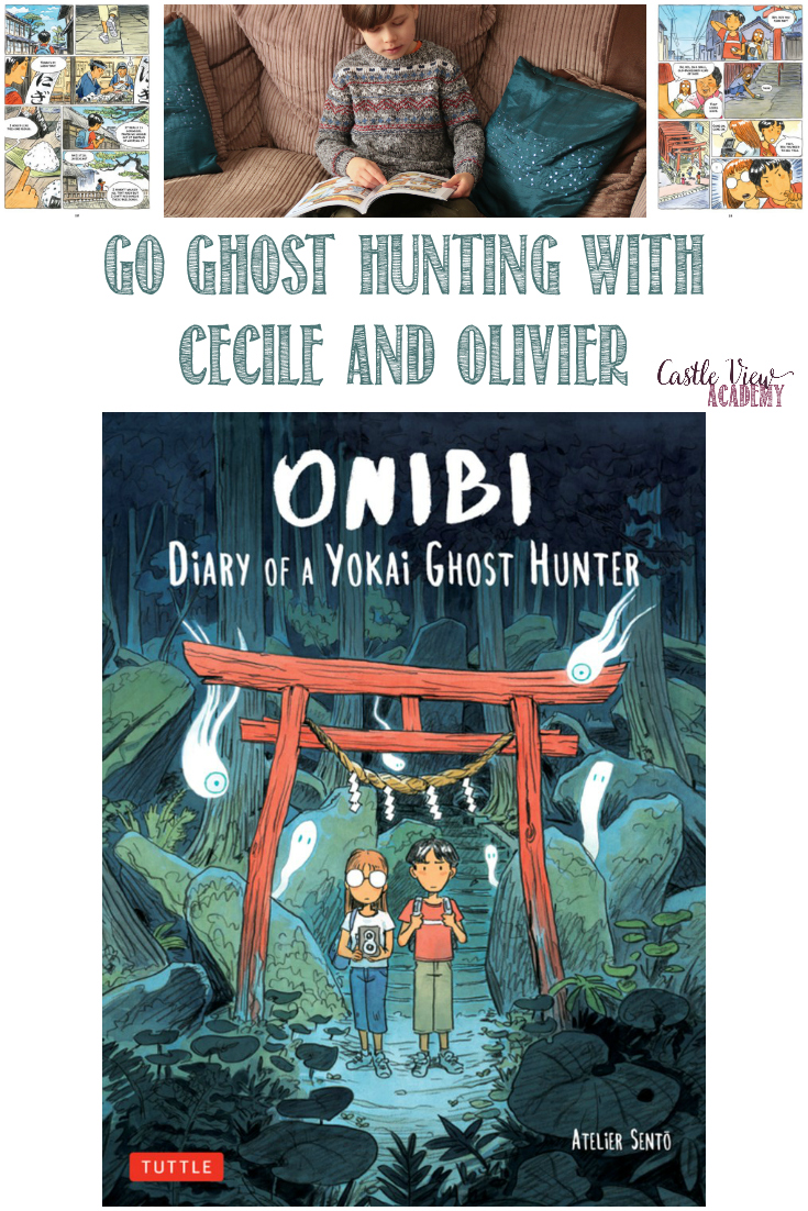 Castle View Academy homeschool reviews Onibi, Diary of a Yokai Ghost Hunter