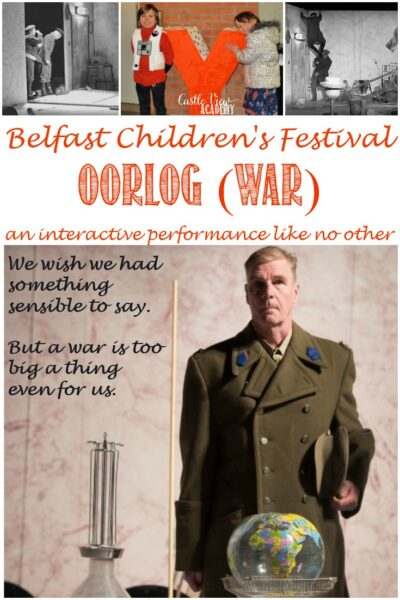 Castle View Academy reviews Oorlog (War) at the Belfast Children's Festival