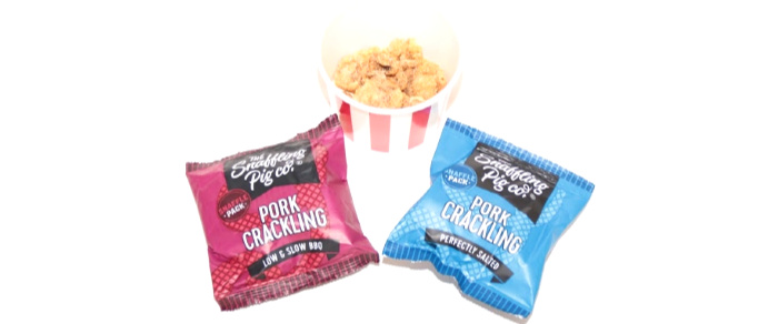Castle View Academy reviews Snaffling Pig Pork Crackling
