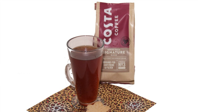 Costa's Signature Blend Coffee at Castle View Academy homeschool