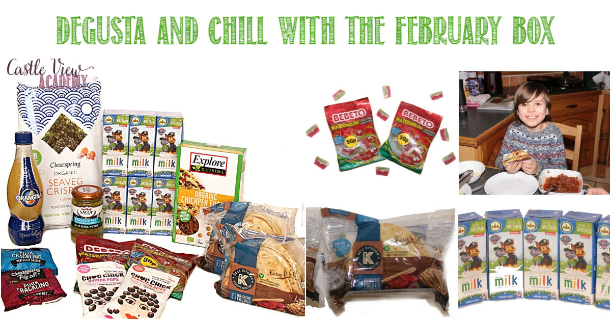 Degusta and Chill With The February Box revealed at Castle View Academy