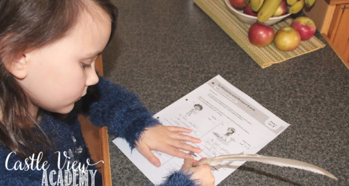 Evan-Moor Higher-Thinking Daily exercises at Castle View Academy homeschool