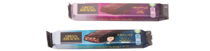 Green & Black's Praline & Truffle Bars reviewed at Castle View Academy