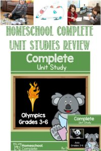 Homeschool Complete Unit Studies Review by Castle View Academy homeschool