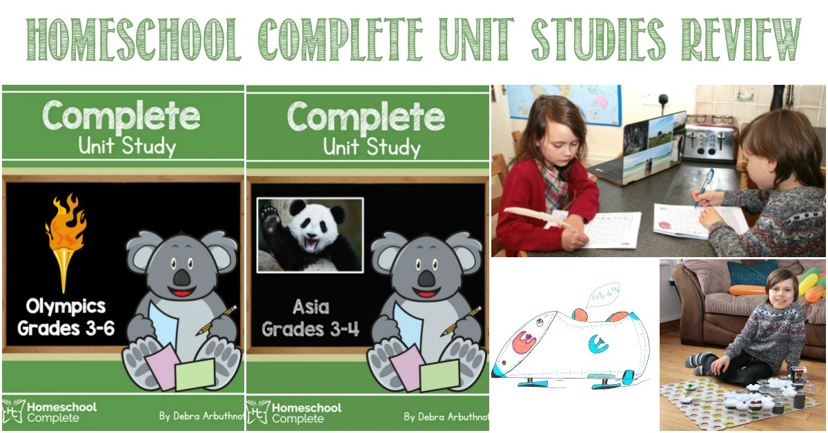 Homeschool Complete Unit Studies Review by Castle View Academy