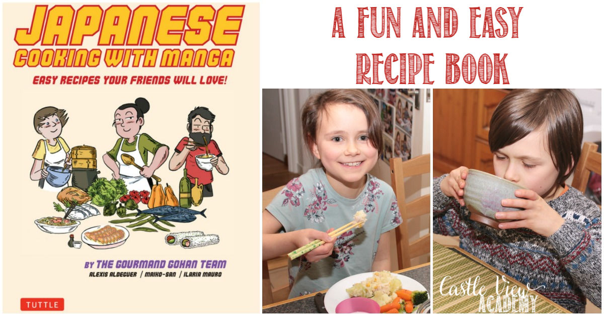 Japanese Cooking with Manga, reviewed by Castle View Academy