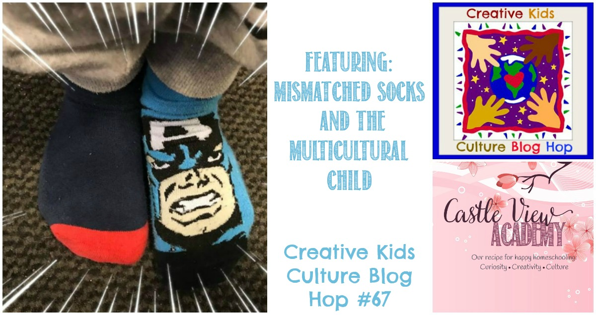 Mismatched socks and the multicultural child - MKB Blog hop at Castle View Academy