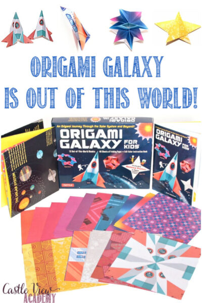 Origami Galaxy is out of this world at Castle View Academy homeschool