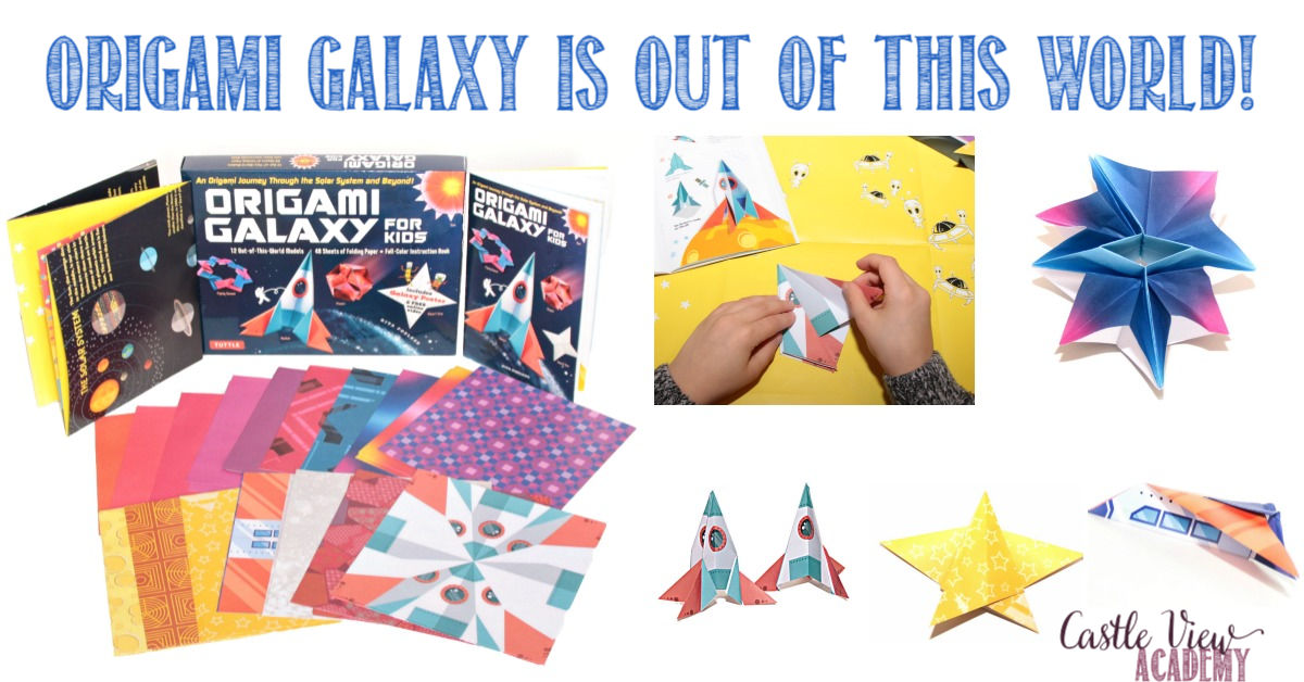 Origami Galaxy is out of this world at Castle View Academy