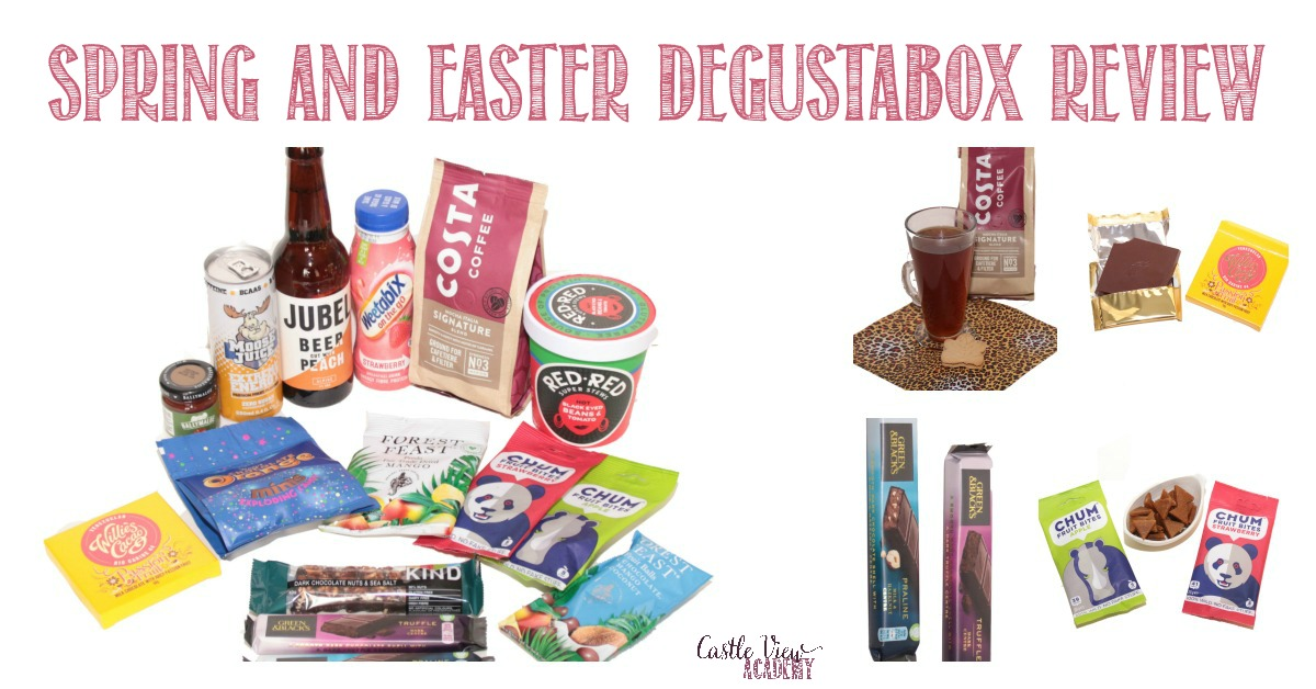 Spring and Easter Degustabox reviewed by Castle View Academy homeschool