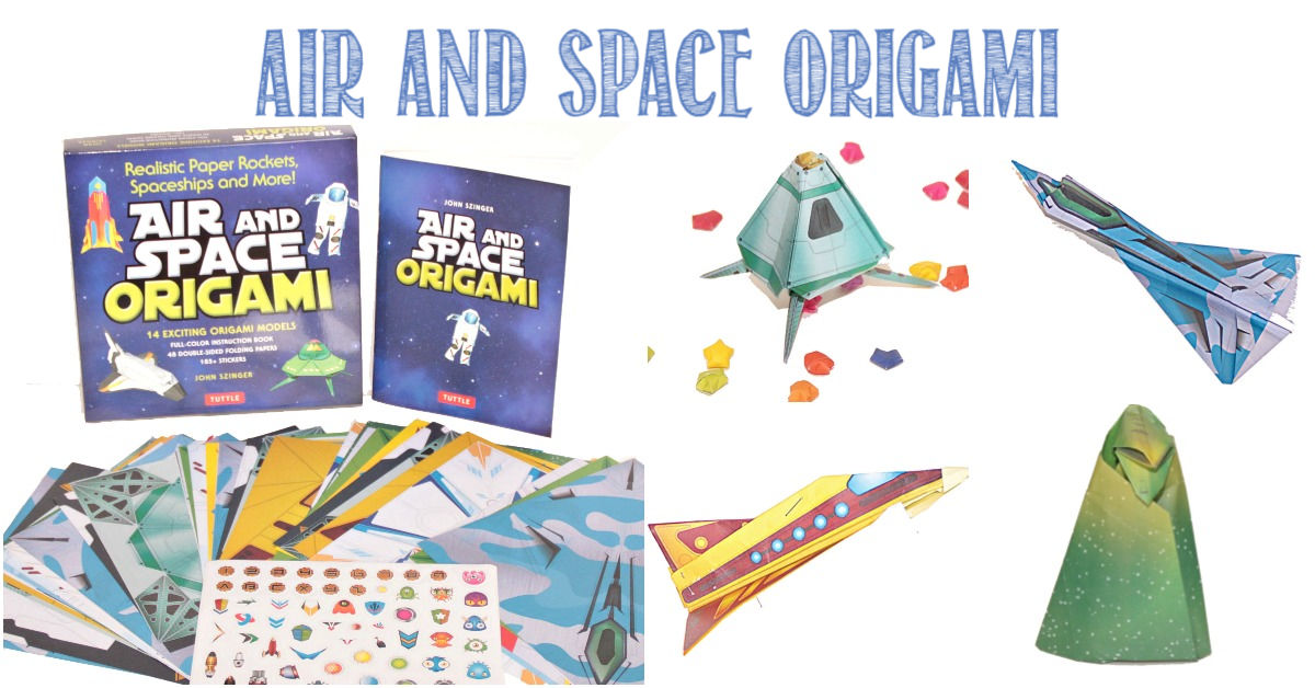 Air and Space Origami reviewed by Castle View Academy homeschool