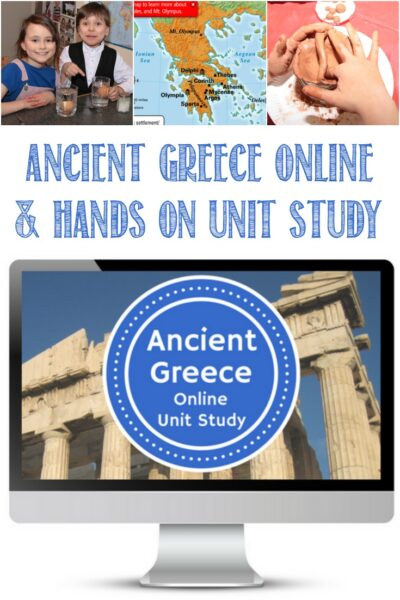 Ancient Greece Online Unit Study Review by Castle View Academy homeschool